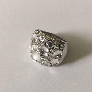 Lia Sophia Rock Crystal Rock Candy Ring 8